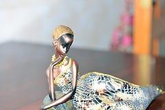 Afrikaans Vrouwenstandbeeld Royalty-vrije Stock Afbeelding