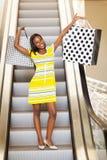 Afrikaans vrouwenwinkelcomplex royalty-vrije stock afbeelding