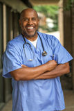 Afrikaanse Amerikaanse arts Royalty-vrije Stock Afbeeldingen