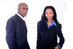 Afrikaanse Amerikaanse BedrijfsMensen Stock Afbeeldingen