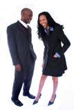 Afrikaanse Amerikaanse BedrijfsMensen Stock Afbeelding