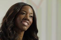 Afrikaanse Amerikaanse bedrijfsvrouw Royalty-vrije Stock Foto's