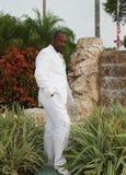 Afrikaanse Amerikaanse Bruidegom Royalty-vrije Stock Fotografie