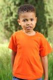 Afrikaanse Amerikaanse Jongen royalty-vrije stock foto's