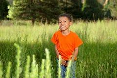 Afrikaanse Amerikaanse Jongen royalty-vrije stock fotografie