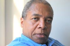 Afrikaanse Amerikaanse mannelijke uitdrukkingen Stock Fotografie