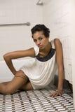 Afrikaanse Amerikaanse Mannequin Stock Foto's
