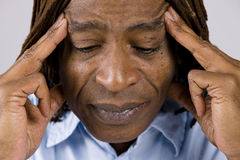 Afrikaanse Amerikaanse Mens royalty-vrije stock afbeelding
