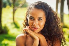 Afrikaanse Amerikaanse vrouw Royalty-vrije Stock Foto's