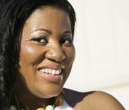 Afrikaanse Amerikaanse Vrouw Royalty-vrije Stock Afbeelding