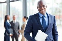 Afrikaanse Amerikaanse zakenman Royalty-vrije Stock Afbeeldingen