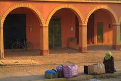 Afrikaanse architectuur stock fotografie