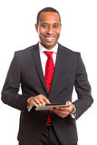 Afrikaanse BedrijfsMens Royalty-vrije Stock Fotografie