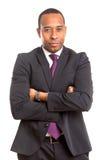 Afrikaanse BedrijfsMens royalty-vrije stock afbeeldingen