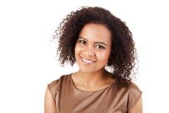 Afrikaanse BedrijfsVrouw Stock Afbeelding