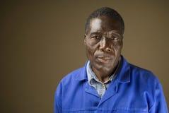 Afrikaanse Bouwvakker royalty-vrije stock fotografie