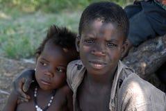 Afrikaanse broers Stock Foto's