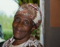 Afrikaanse dame Royalty-vrije Stock Fotografie