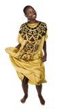 Afrikaanse danser Stock Afbeelding