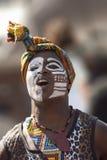 Afrikaanse danser Stock Afbeeldingen