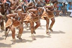 Afrikaanse dansers royalty-vrije stock afbeelding