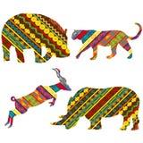 Afrikaanse dieren Stock Afbeeldingen