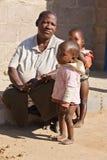 Afrikaanse familie royalty-vrije stock fotografie