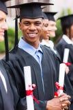 Afrikaanse gediplomeerdenklasgenoten Royalty-vrije Stock Fotografie