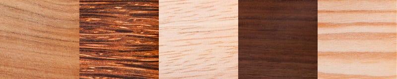 Afrikaanse houten textuur Stock Afbeeldingen