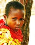 Afrikaanse jonge geitjes Stock Foto's