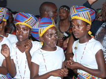 Afrikaanse jonge geitjes royalty-vrije stock fotografie
