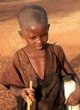 Afrikaanse jongen Royalty-vrije Stock Afbeelding