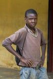 Afrikaanse jongen Royalty-vrije Stock Fotografie