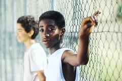 Afrikaanse jongens Royalty-vrije Stock Afbeelding