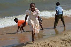 Afrikaanse kinderen Royalty-vrije Stock Foto's