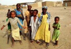 Afrikaanse kinderen stock afbeeldingen