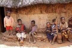 Afrikaanse kinderen Stock Afbeelding
