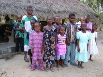Afrikaanse kinderen - Ghana Royalty-vrije Stock Foto's