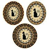 Afrikaanse kleurenornamenten Royalty-vrije Stock Afbeeldingen