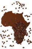 Afrikaanse koffie Royalty-vrije Stock Afbeelding