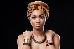 Afrikaanse Koningin Stock Afbeelding