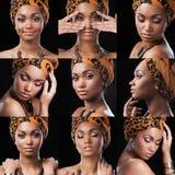 Afrikaanse Koningin Royalty-vrije Stock Fotografie