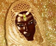 Afrikaanse Koningin, Manierschoonheid royalty-vrije stock afbeelding