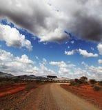 Afrikaanse landschappen Royalty-vrije Stock Afbeeldingen