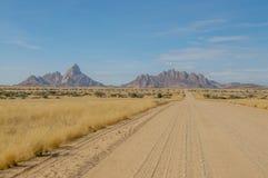 Afrikaanse landschappen - Spitzkoppe Namibië Royalty-vrije Stock Foto