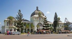 Afrikaanse markt Royalty-vrije Stock Foto's
