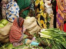 Afrikaanse markt Stock Afbeelding