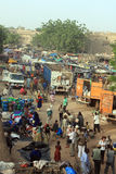 Afrikaanse markt Royalty-vrije Stock Foto