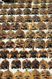 Afrikaanse maskers Royalty-vrije Stock Fotografie