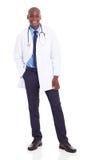 Afrikaanse medische arts stock foto